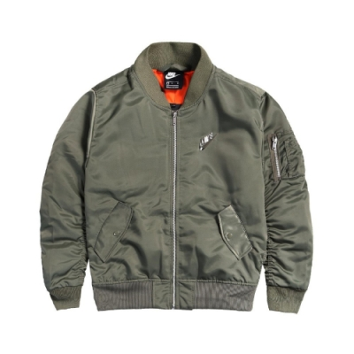 Nike 外套 Punk Bomber Jacket 男款 NSW 飛行外套 重磅 穿搭推薦 保暖 綠 橘 CZ1671380