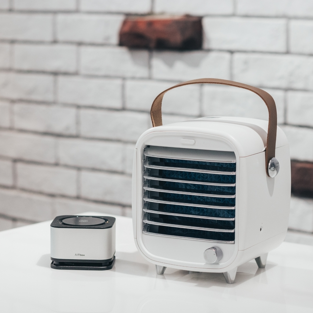 【ROOMMI】迷你空調冰冷扇+AIRBOX方塊舒