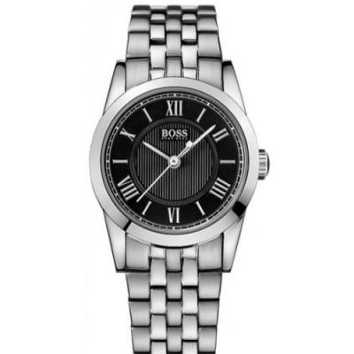 Hugo Boss Black簡約流線時尚錶/H1502282