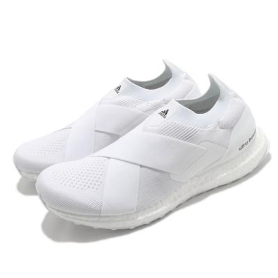 adidas 慢跑鞋 Ultraboost Slip On DNA 女鞋 愛迪達 無鞋帶 襪套式 緩震 穿搭 休閒 白 黑 H02815