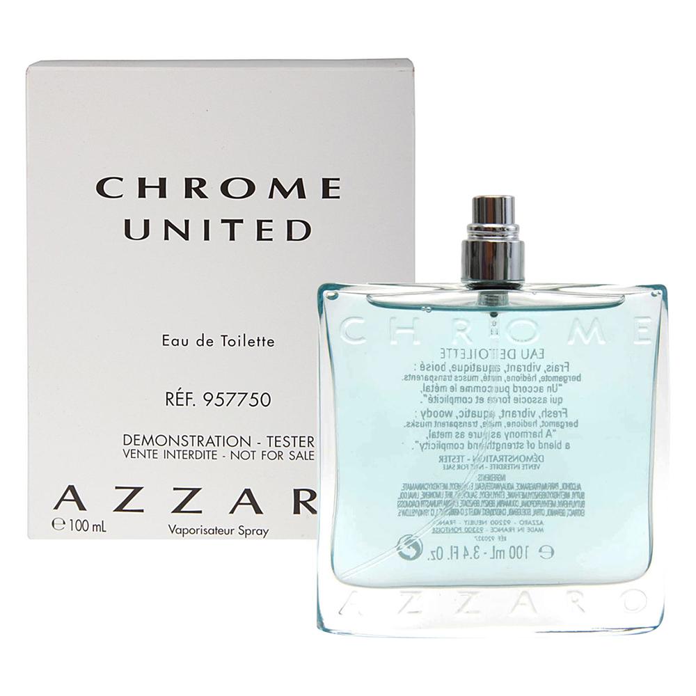 Azzaro Chrome海洋鉻元素男性淡香水100ml tester