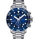 TISSOT 天梭 Seastar 1000 海洋之星300米潛水計時錶-藍x銀/45mm product thumbnail 1