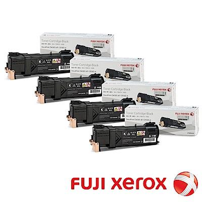 FujiXerox C305 原廠黑色碳粉匣CT201632(四入組)