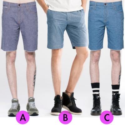 [時時樂限定]BRAPPERS 男款 五分褲(三色選)