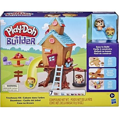 PlayDoh 培樂多 - 建造系列 小樹屋遊戲組