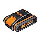 【WORX威克士】20V鋰電池2.0Ah-橘