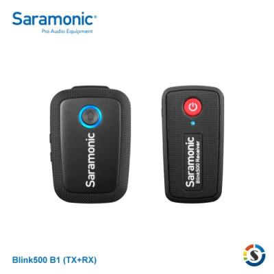 Saramonic楓笛 Blink500 B1(TX+RX) 一對一無線麥克風套裝