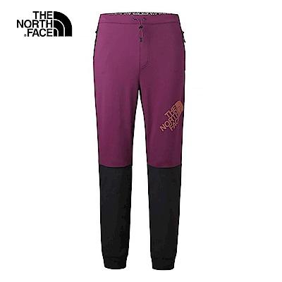 The North Face北面男款棕色舒適耐久速乾針織長褲|3GJD5WE