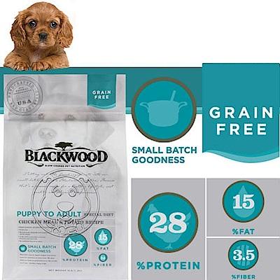 12月限定~柏萊富《全犬│雞肉&豌豆》無穀低敏純淨配方-5LB/2.2kg