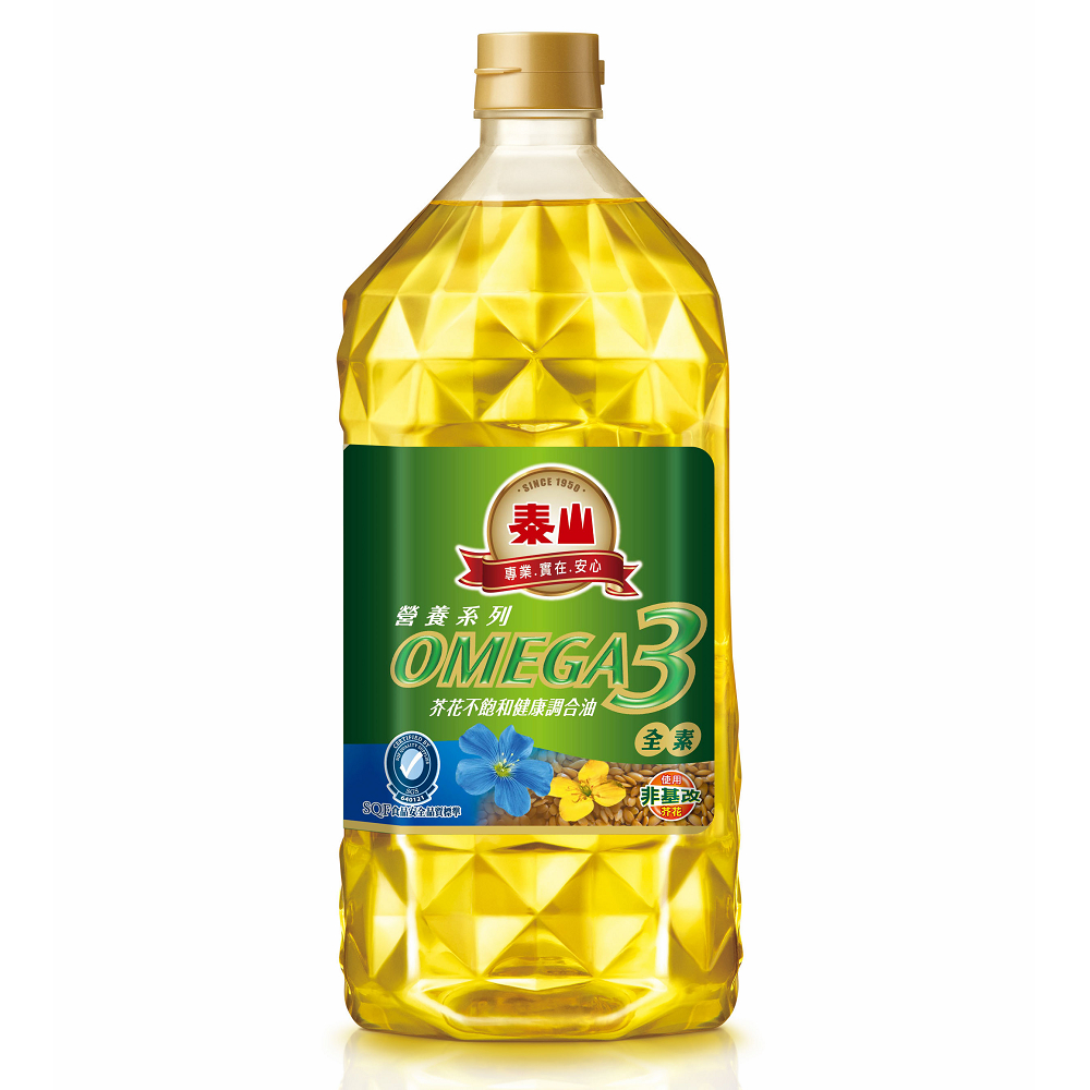 泰山 OMEGA-3芥花不飽和健康調合油(2L)