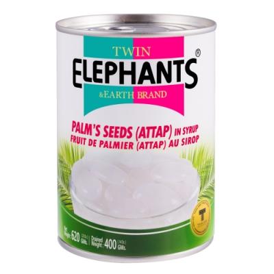 雙象地球牌 糖水亞答子(620g)
