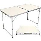 便攜式鋁合金折疊桌.手提摺疊桌 傘孔-(快)