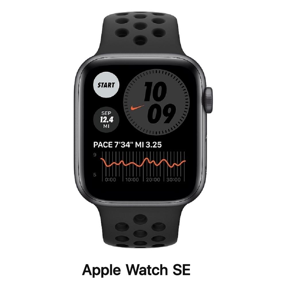 Apple Watch SE 44mm GPS版 鋁金屬錶殼配運動錶帶 product image 1