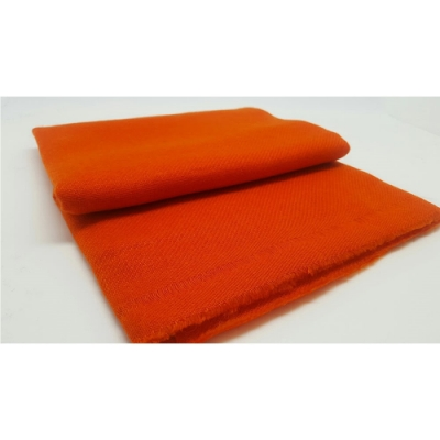 【F.M&Carol】曦心系列- 100%純喀什米爾厚款羊絨披肩(陽橙色)