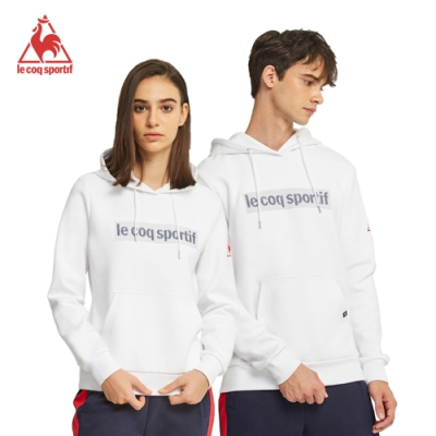 法國公雞牌連帽T恤 LWM2334890-中性-白
