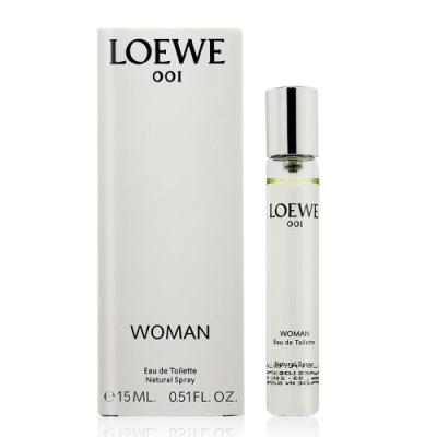 LOEWE 001 WOMEN 女性淡香水15ml EDT-國際航空版