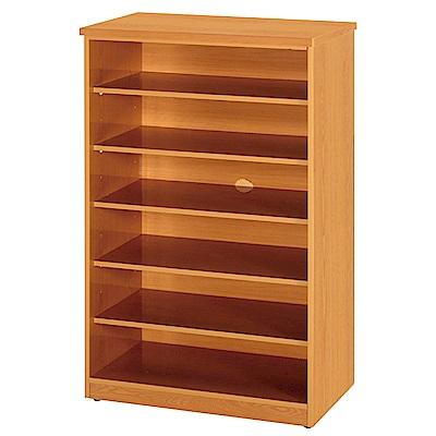 綠活居 阿爾斯環保2.2尺塑鋼開放式鞋櫃(四色可選)-65x37x112cm免組