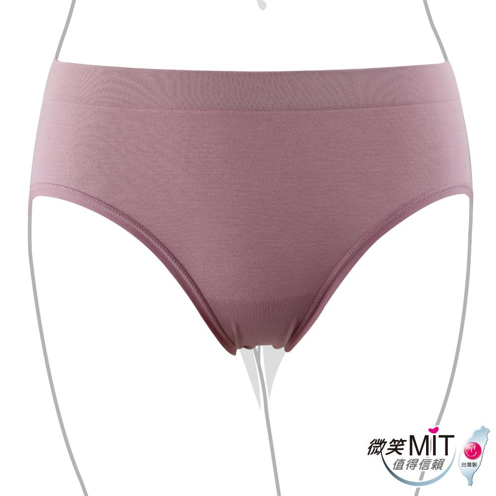 推EASY SHOP-iMEWE 中低腰三角褲(紫芋色)