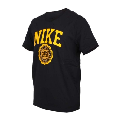 NIKE 男 短袖T恤 黑黃