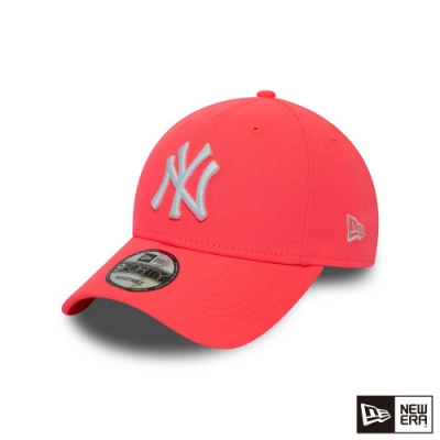 NEW ERA 940 LEAGUE ESSENTIAL 洋基 螢光桃色 棒球帽