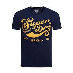 SUPERDRY 極度乾燥 文字T恤 藍色1039