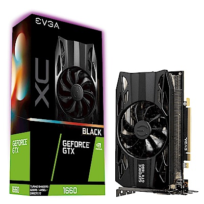 艾維克EVGA GTX1660 6G XC Black Edition GAMING顯示卡