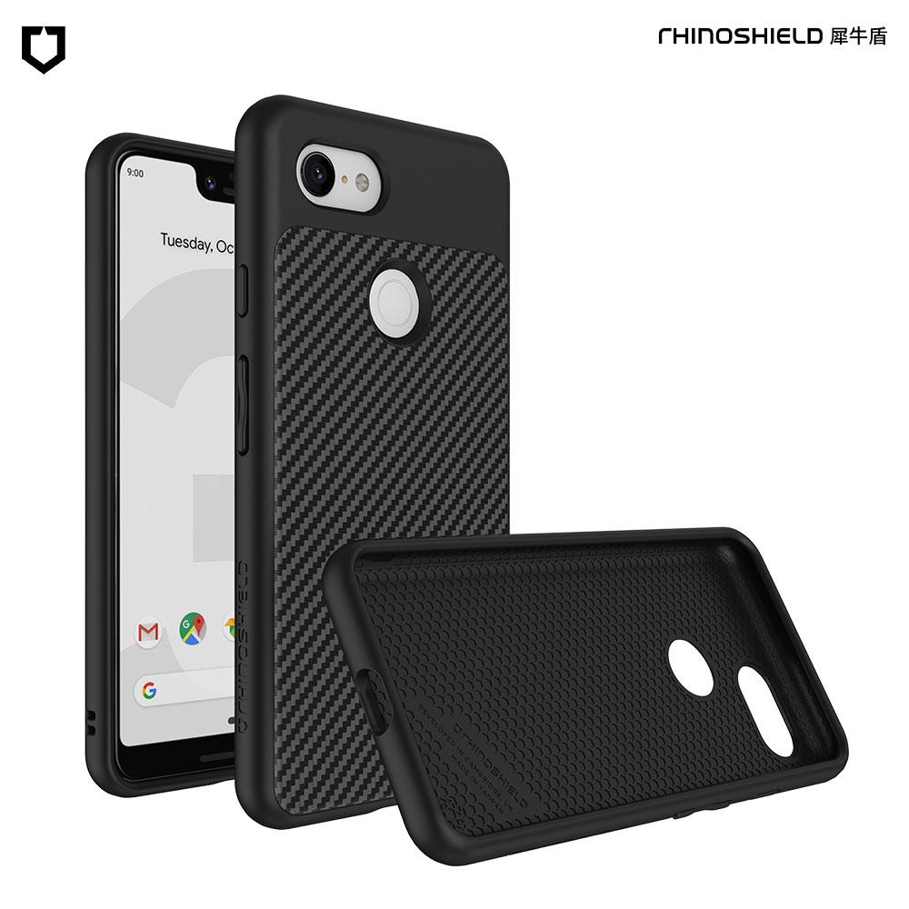 犀牛盾Google Pixel 3 SolidSuit 碳纖維防摔背蓋手機殼