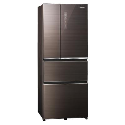 Panasonic國際牌 500公升 無邊框玻璃系列變頻四門電冰箱 NR-D501XGS