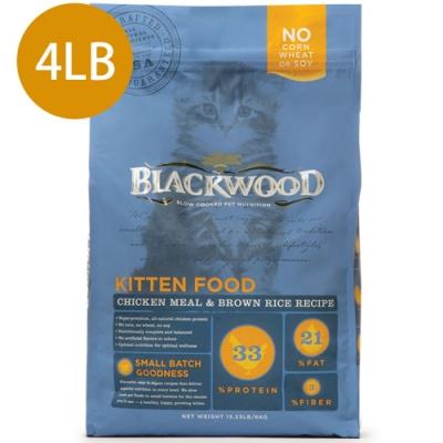 Blackwood柏萊富-特調幼貓成長配方(雞肉+糙米)4LB