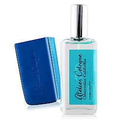 Atelier Cologne  加州盛夏精醇古龍水30ml+手工皮套(藍色)