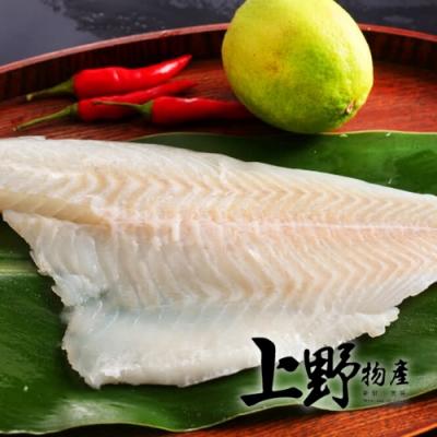 (滿899免運)【上野物產】嚴選鮮嫩金目鱸魚片 x1片(250g土10%/片)
