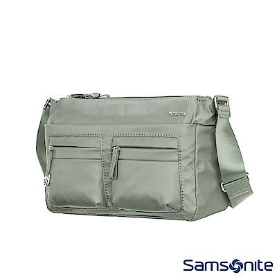 Samsonite新秀麗 Move2.0斜背包(灰綠)