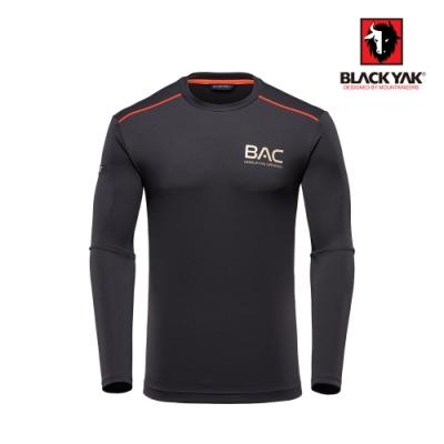 【BLACK YAK】BAC男吸排長袖上衣 [黑色]