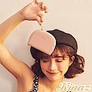 KINAZ 驚喜圓滑貼心分層零錢包-粉嫩紅魔法 -小物魔法系列