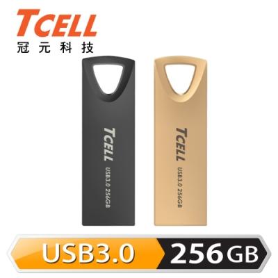 TCELL冠元-USB3.0 256GB 浮世繪鋅合金隨身碟