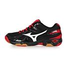 MIZUNO 男女 排球鞋 WAVE TWISTER 4 黑紅