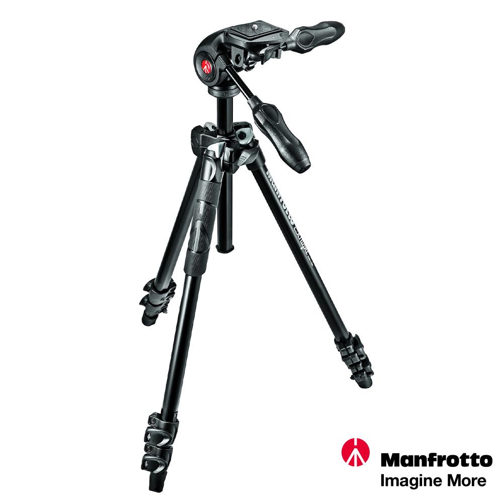 Manfrotto MK290LTA3-3W 輕巧三節腳架+三向雲台套組