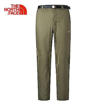The North Face北面男款綠色輕量保暖長褲|3L8YZBK