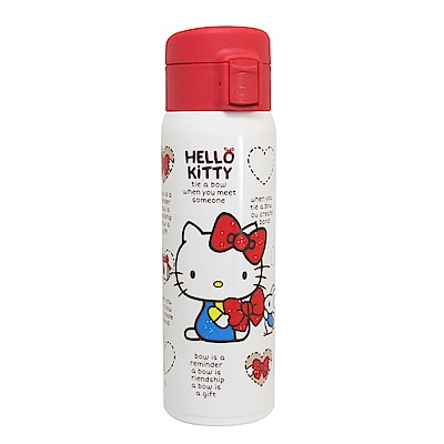 Hello Kitty輕量真空保溫保冷瓶480ml-白