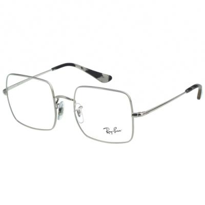 RAY BAN 方框 光學眼鏡(銀色)