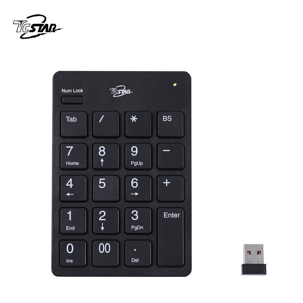 TCSTAR 無線數字鍵盤 TCK890