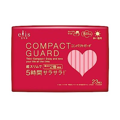 日本大王elis愛麗思COMPACT GUARD GO可愛日用超薄23cm (23片/包)