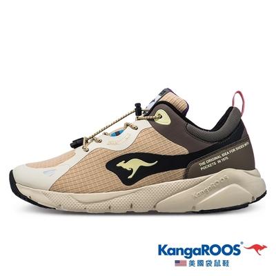 KangaROOS 男 ZEPHYR 防撥水跑鞋(卡奇-KM11971)