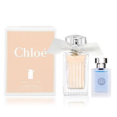Chloe Les Mini Chloe小小白玫瑰女性淡香水20ML-贈小香