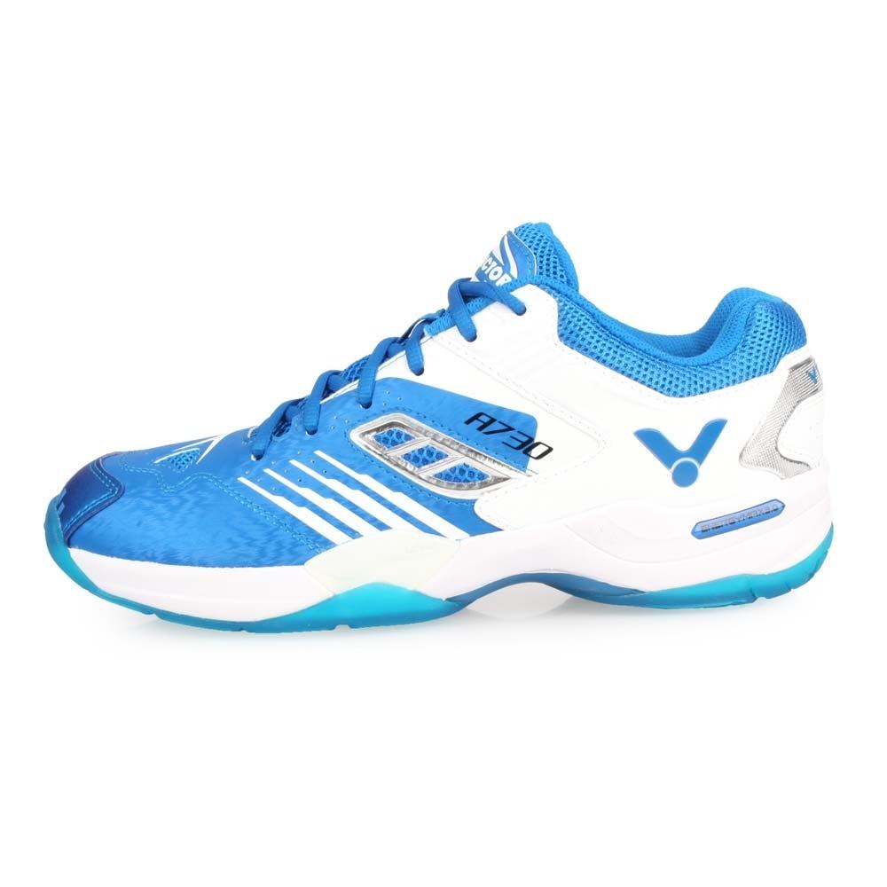 VICTOR A730系列男專業羽球鞋-羽球 勝利 藍白銀