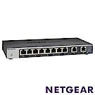 NETGEAR GS110EMX 10埠簡易網管Multi-Gig 變速交換器