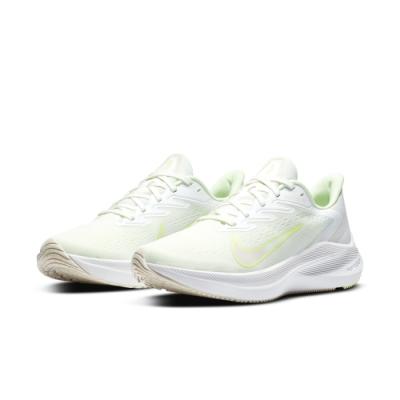 NIKE  慢跑鞋 訓練 健身 運動鞋 女鞋 粉綠 CJ0302100 WMNS ZOOM WINFLO 7