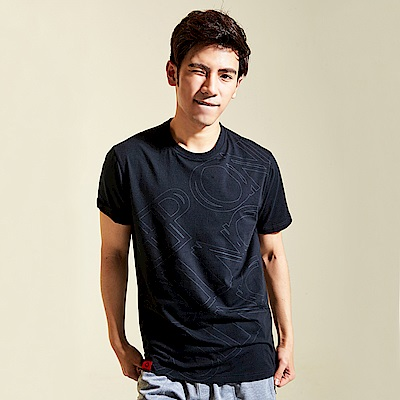 【AIRWALK】KEEP ON ROLLING棉圓領T恤-黑