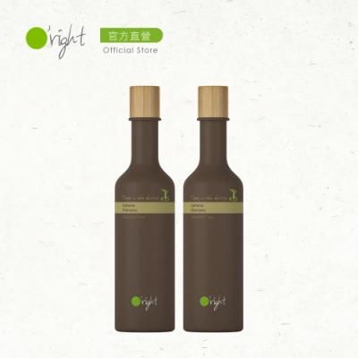 O right 歐萊德 瓶中樹咖啡因洗髮精250ml兩入組