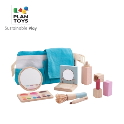 PLANTOYS 天然橡膠木益智玩具 角色扮演系列-職業小達人 我是彩妝師